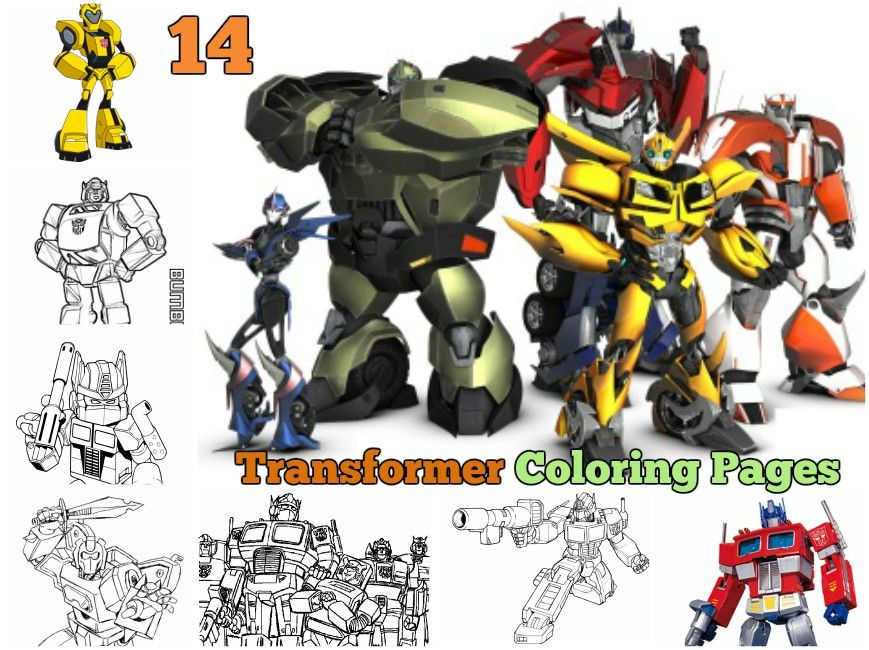 Transformers Coloring Pages For Kids Optimus Prime Bumblebee Coloring Sheet Transformers Coloring Pages Coloring Pages Coloring Pages For Kids