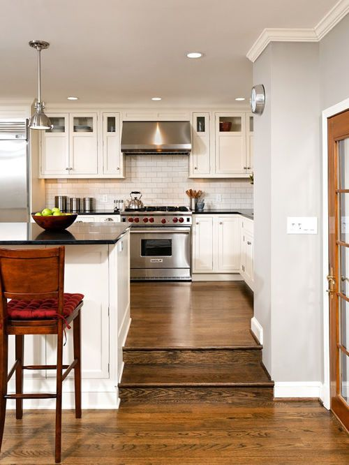 Kitchen Step Up Design Ideas, Pictures, Remodel And Decor