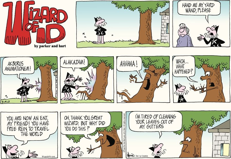 Wizard of Id by Parker and Hart for Mar 19, 2017 | Read Comic Strips ...