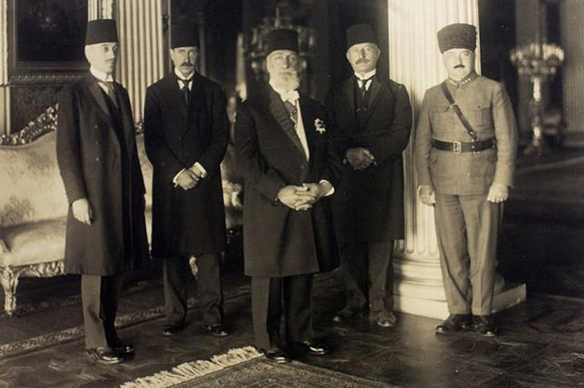 The last Caliph of Islam, Abdulmejid Efendi, in 1924, one week before his exile and the abolition of the caliphate by the Turkish Grand National Assembly