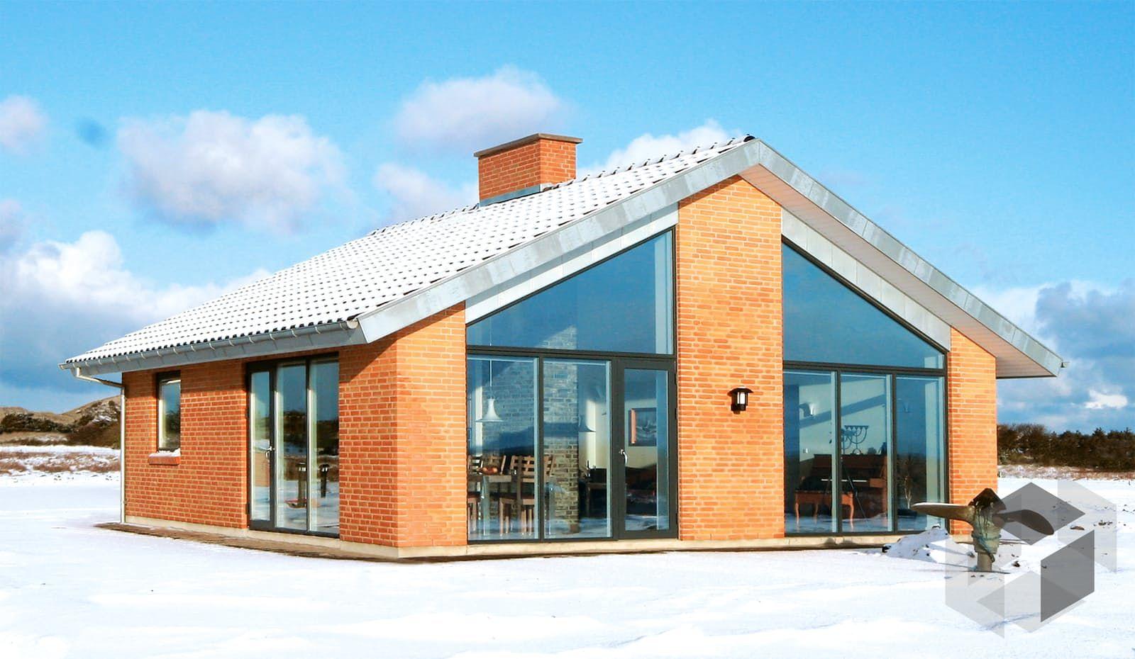Das Alsen Haus von Danhaus mit 78,80 m² ➤ Auswahl von kleinen ...