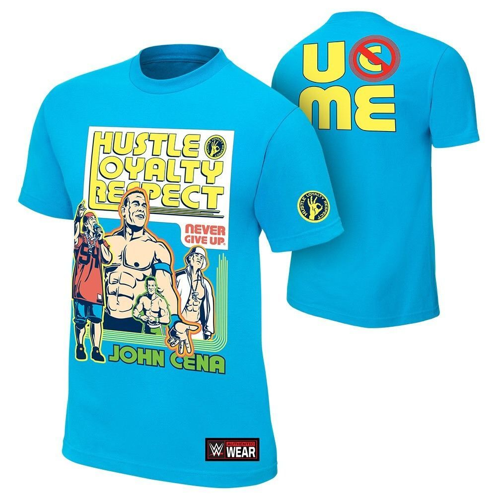 WWE JOHN CENA NEVER GIVE UP RISE ABOVE CANCER YOUTH KIDS OFFICIAL NEW