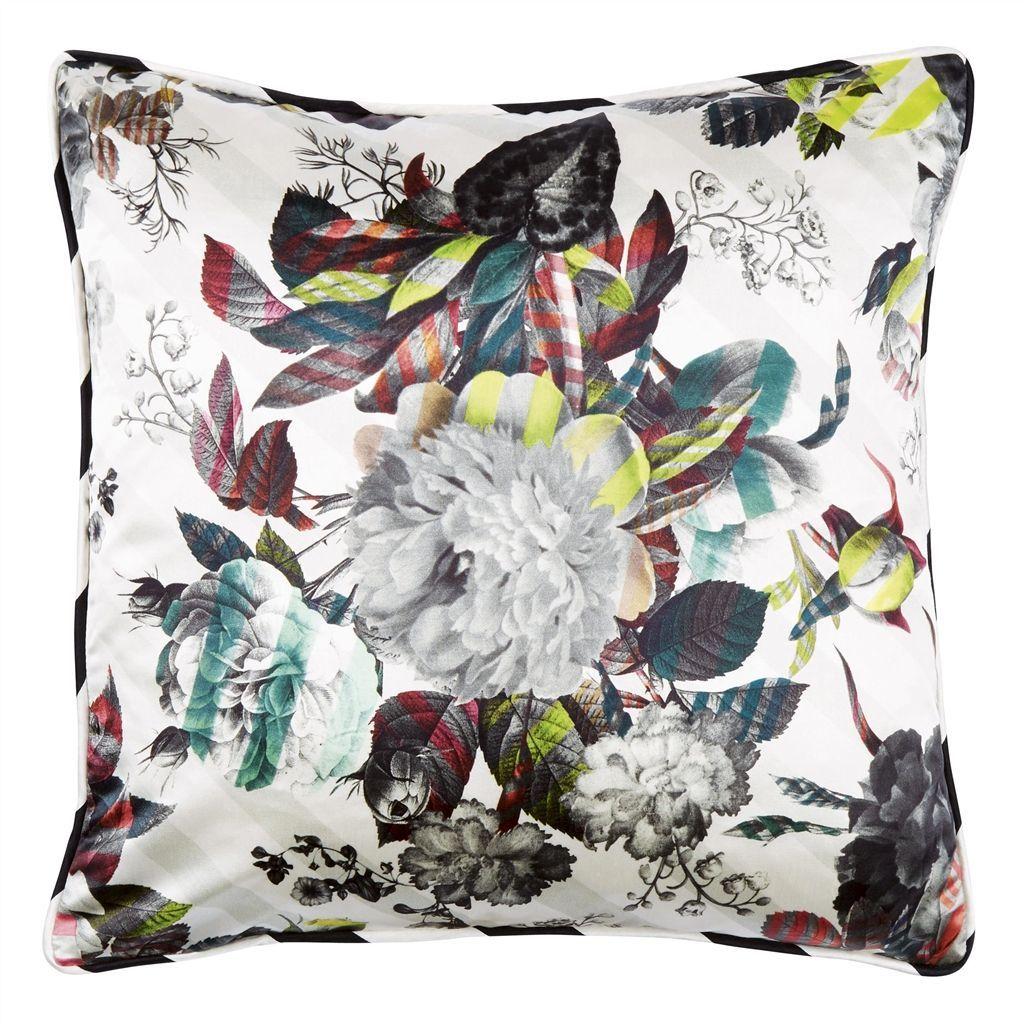 Beauharnais rosée cushion colourful cushions pinterest silk