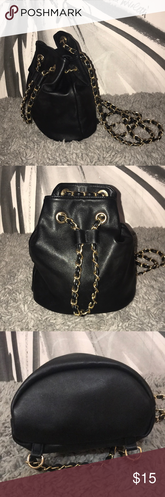 0f8ad745b129a6 In beautiful condition with scuffs, scratches and marks throughout bag and  hardware as seen in pics. FOREVER 21 brand. Forever 21 Bags