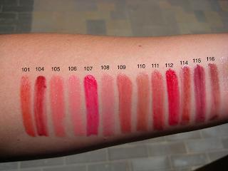Cle de Peau Extra Silky Lipstick (101, 109, 116) Cle de