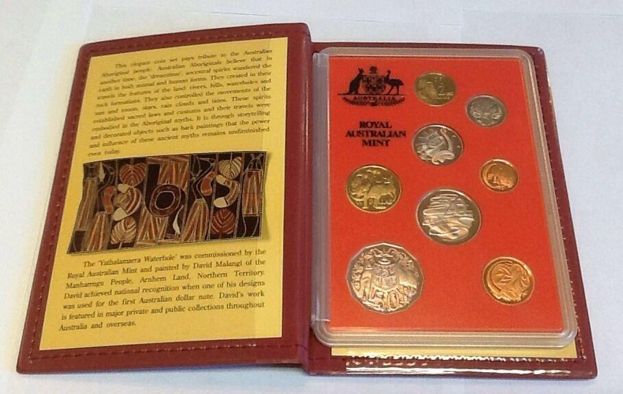 1990 Australia Uncirculated Mint Coin Set BU Coins