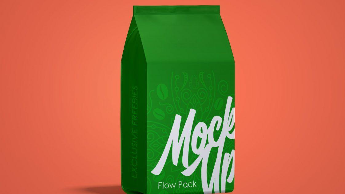 Download Free Simple Paper Bag Flour Packaging Mockup Free Package Mockups Packaging Mockup Paper Bag Packaging Design Inspiration