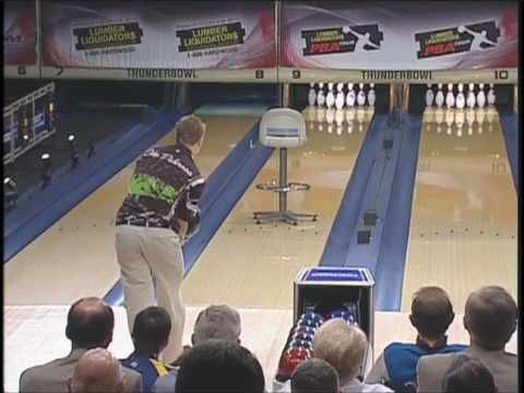 2 handed bowling: See more trick shots on Oct. 25th at 1 p.m