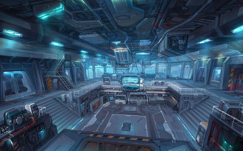 Space Station On Pinterest Futuristic Interior