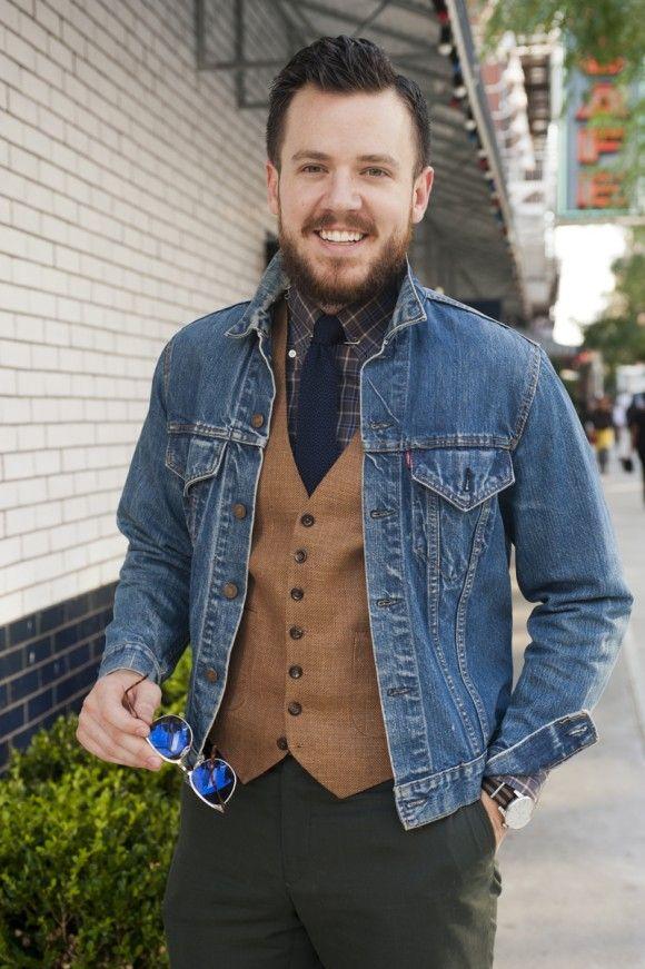 Vintage Levi's BIG E Jean Jacket Dark DENIM Blanket Lined Cowboy ...