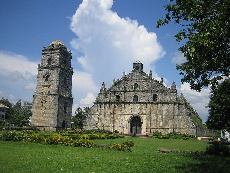 San Augustin Church Paoay Ilocos Norte Architecture Filipino Culture Ilocos Norte