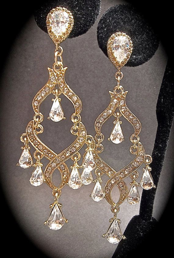 Chandelier earrings gold rhinestone by queenmejewelryllc on etsy chandelier earrings gold rhinestone by queenmejewelryllc on etsy 3999ey are not mozeypictures Choice Image