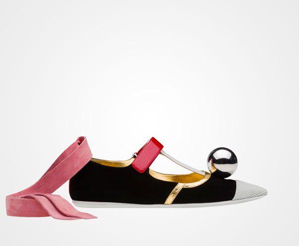 big sale fa98d 5c6bc prada ballerina   Stuff - Shoes   Pinterest   Shoes, Pretty ...