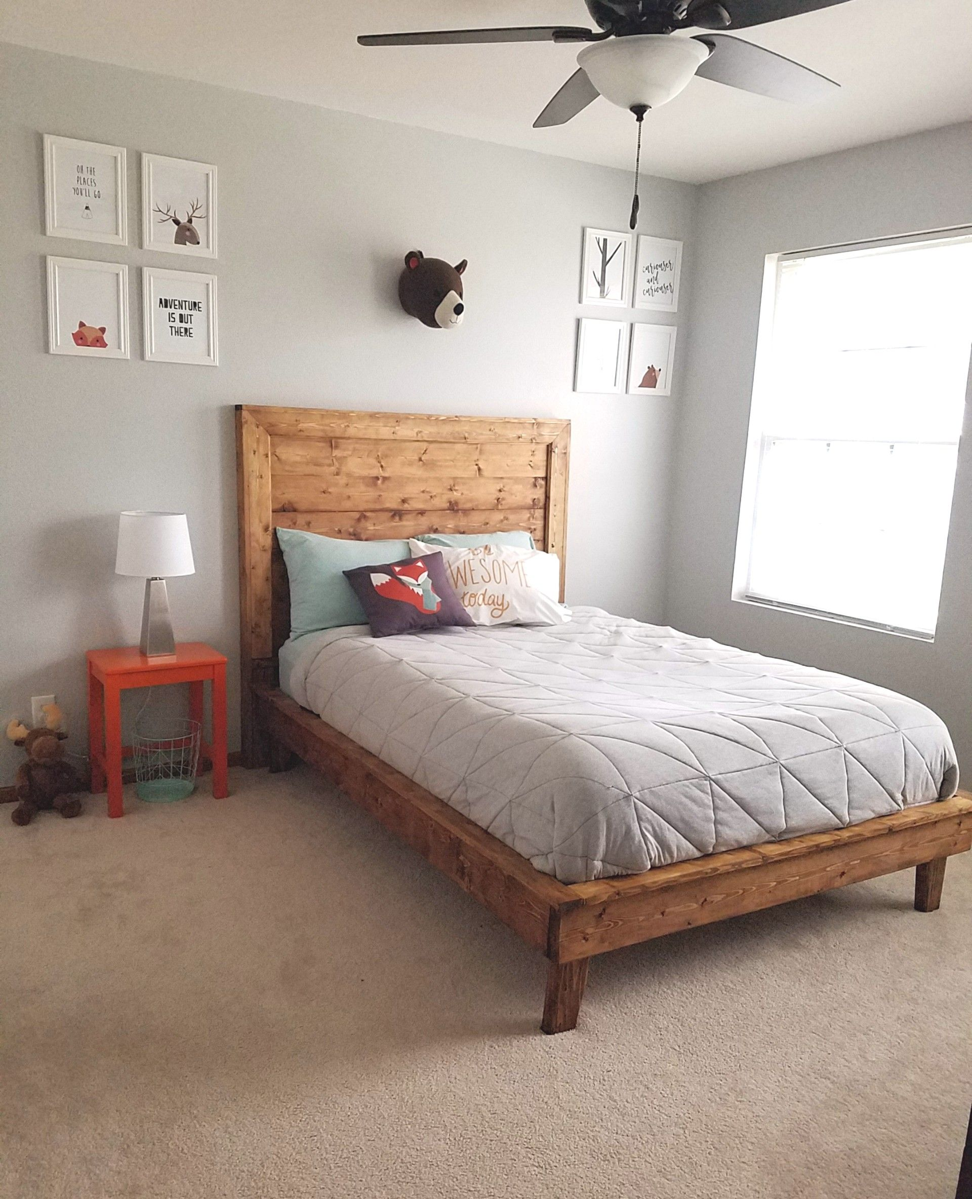 Best Ana White Beautiful Bed Diy Projects Diy Platform 400 x 300