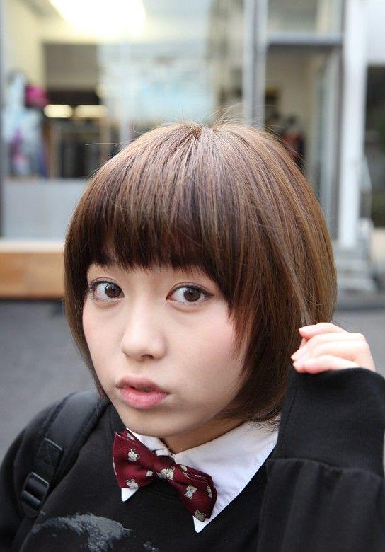 Cute Asian Short Hairstyles 2013