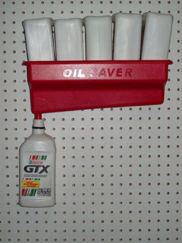 Amazon Com Automotive Engine Oil Saver Bottle Drain Red Automotive Automotive Shops Garage Storage Garage Shop