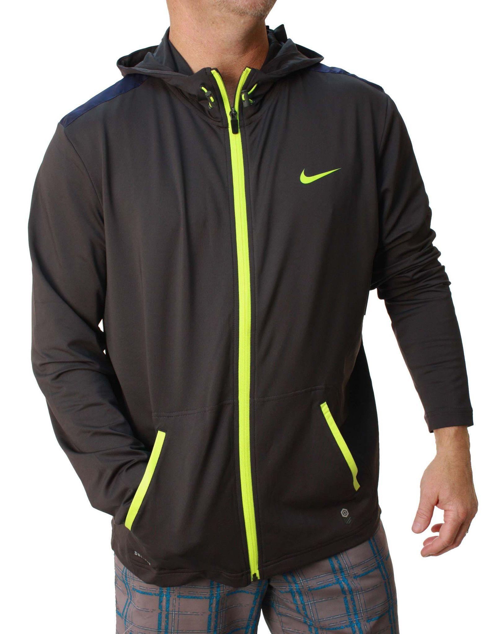 82673bb9 Nike Men's Dri-Fit OT Lightweight Full Zip Basketball Hoodie | Nike ...