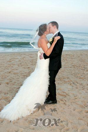 Ocean City MD Beach Wedding By Rox Weddings Roxbeach