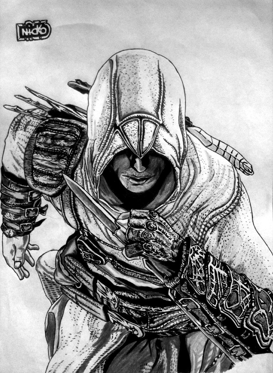 Assassin S Creed Altair 2 By Nickosean D3yp4n0