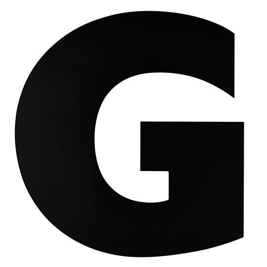 Not Giant Enough Letter G