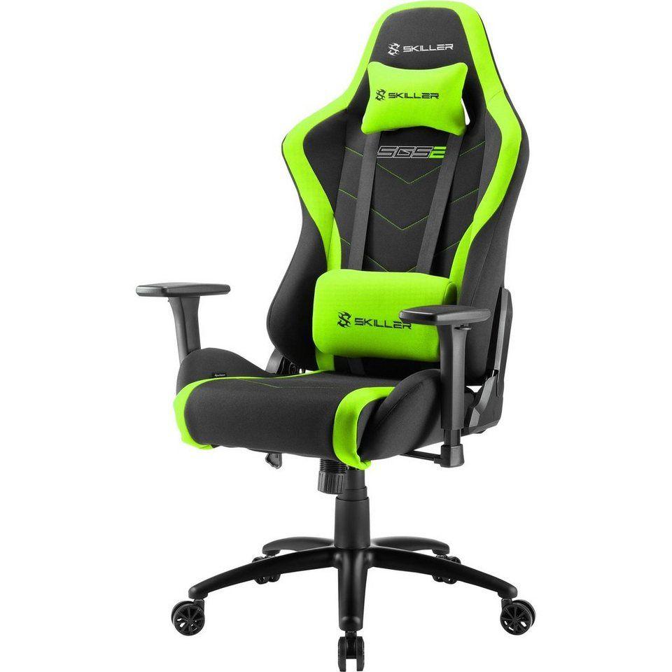 Sharkoon Gaming Stuhl Skiller Sgs2 Gaming Chair Otto Stuhle Lendenkissen Kunstleder