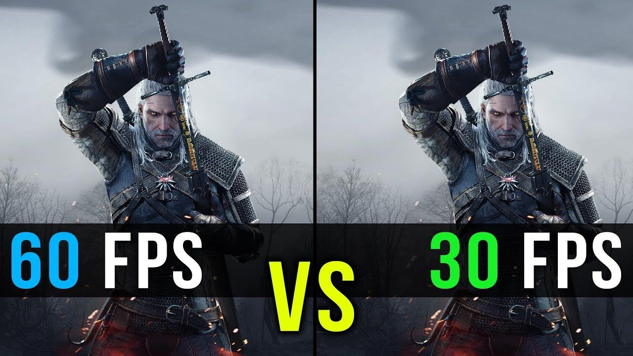 30 Fps Vs 60 Fps Gaming Comparison