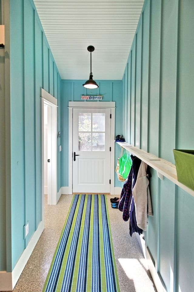 Farbgestaltung Im Flur Eingangsbereich | Möbelideen