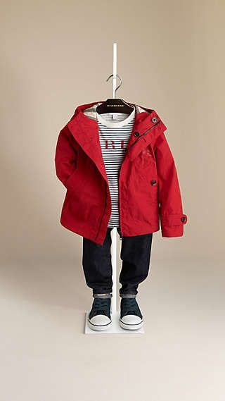 63a8beb2bbbd6 Check-Lined Hooded Blouson - Burberry Burberry Gifts