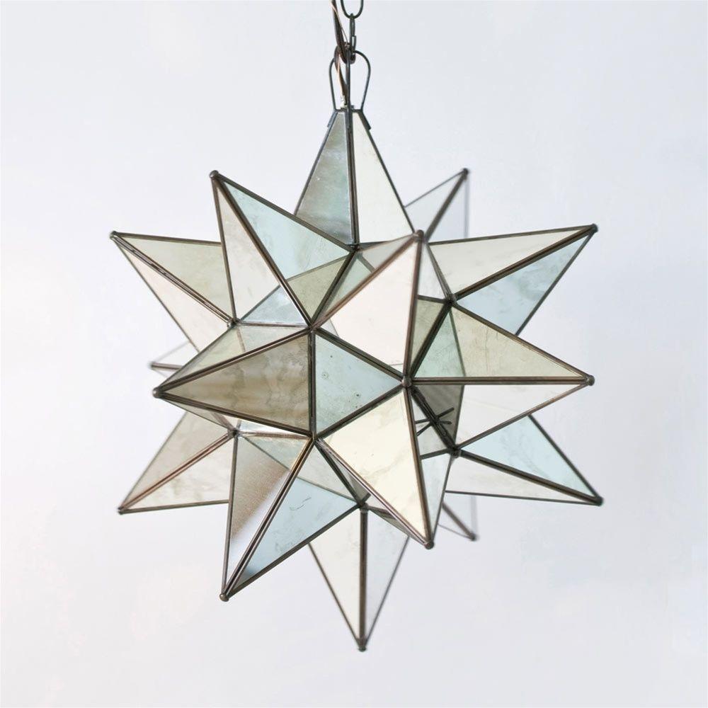 Large Outdoor Moravian Star Light
