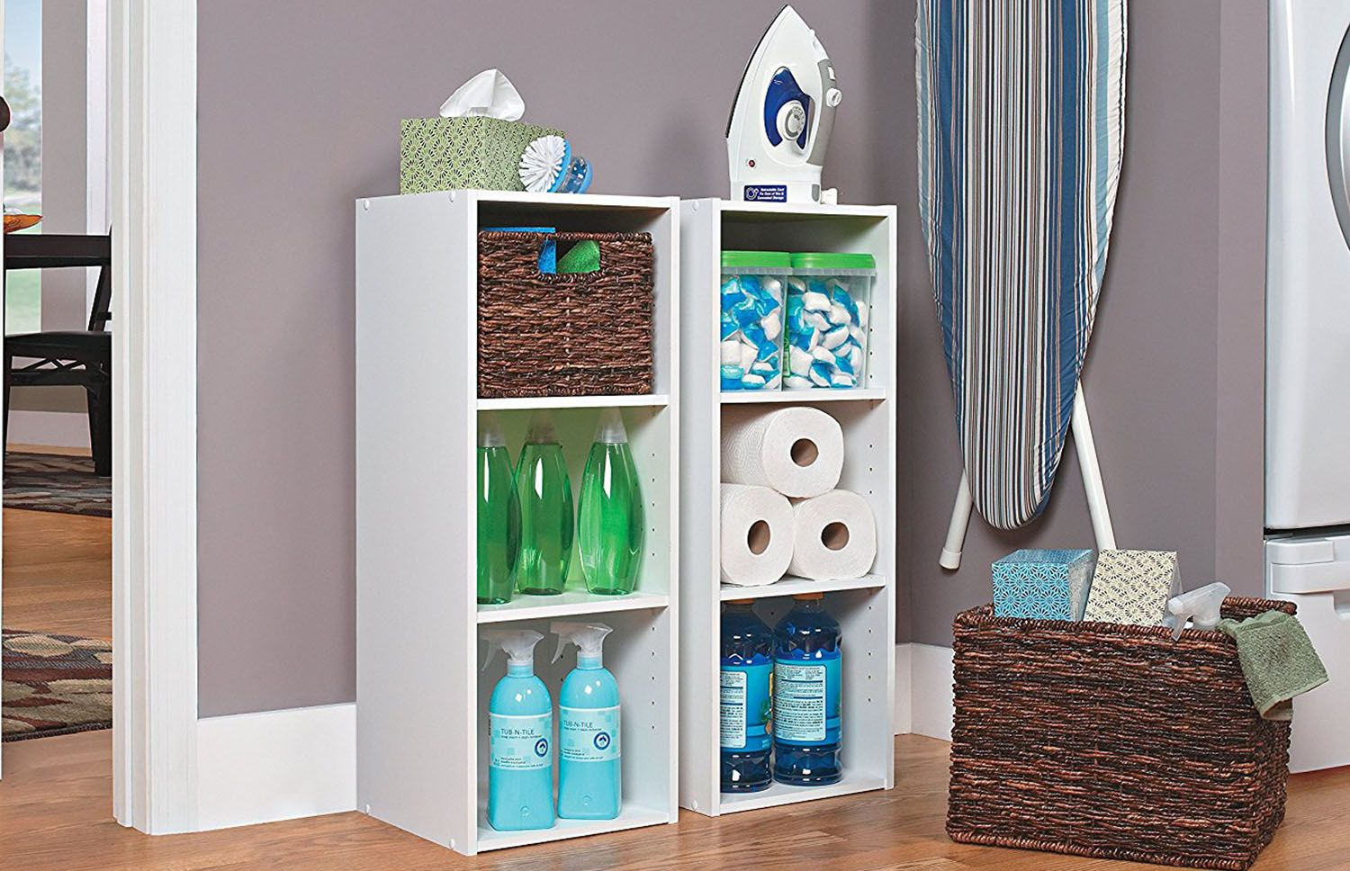Organize Your Laundry Room Essentials With The Help Of Shelf