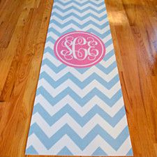 Personalized Monogram Yoga Mat I