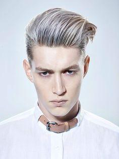 Pearl And Blonde Colors Men S Hair Color Trends Aveda Full