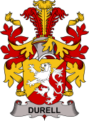 Swedish Coat of Arms for Durell