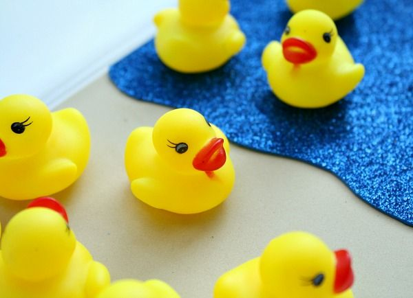 Rubber Duck Math Game To Go With Ten Little Rubber Ducks Fantastic Fun Learning Rubber Duck Math Games Fun Learning