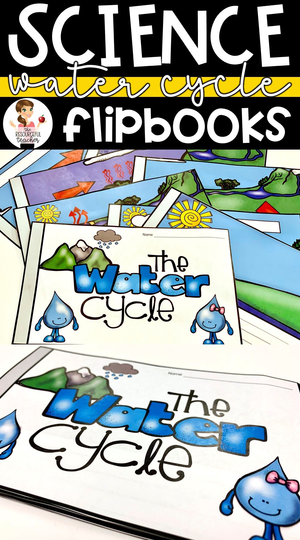 Water Cycle Flipbook
