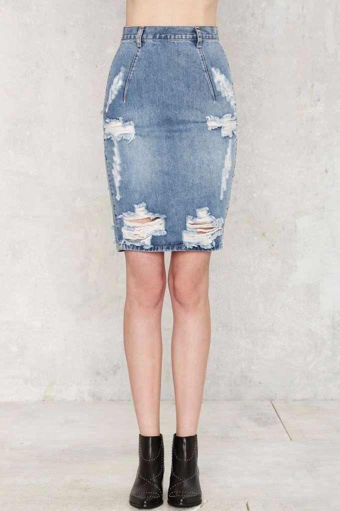 eb1cd0f853 One Teaspoon Freelove Denim Skirt - Ford - Clothes
