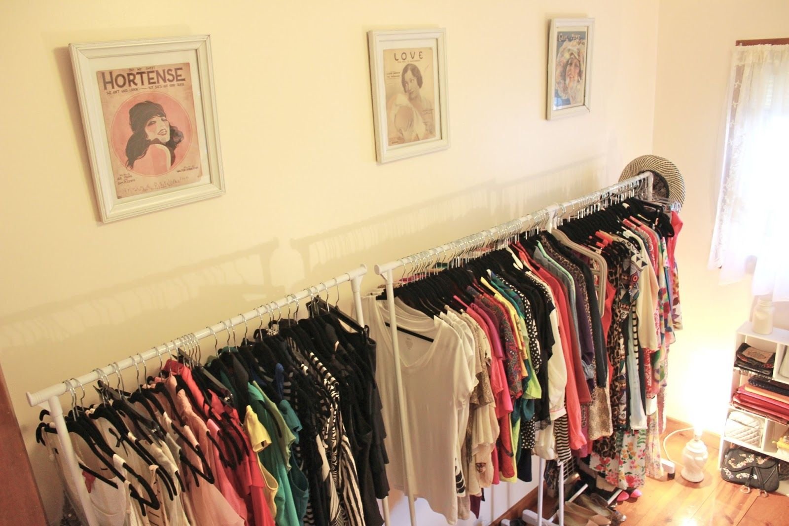 Dina\'s Days: Turning A Spare Room Into A Walk-In Closet | For the ...