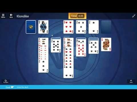 Klondike / Easy II: Solve the deck iii