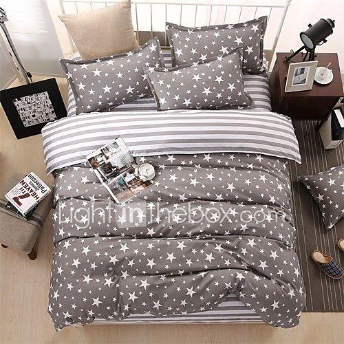 Copripiumino.Bedtoppings Comforter Piumino Copripiumino 4pcs Impostati