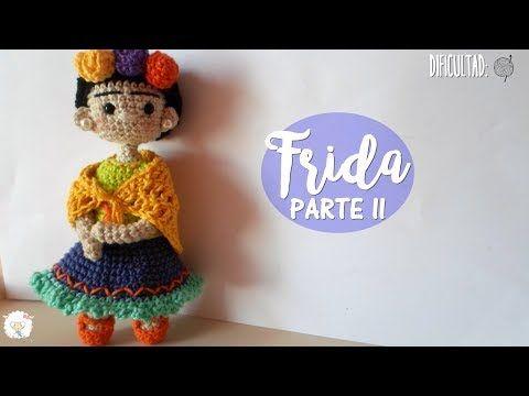 Amigurumis De Frida Kahlo : Como hacer el pelo chino para tu muñeca y como tejer el punto de