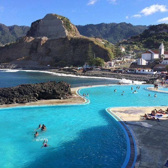 Porto Da Cruz Madeira Island Portugal Portugal In 2018