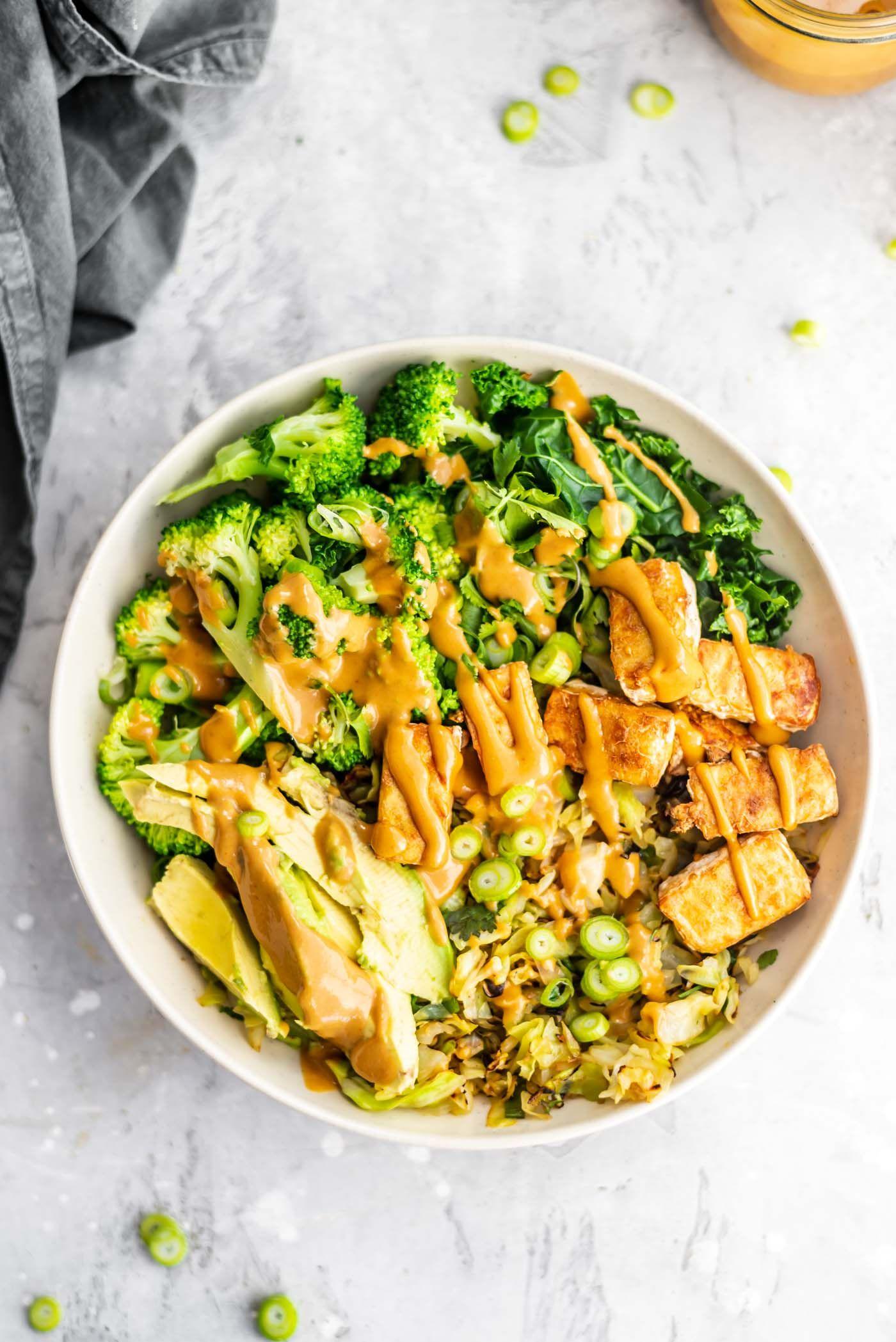 Low Carb Vegan Bowl Recipe Low Carb Vegan Vegan Dinners Dinner Bowls