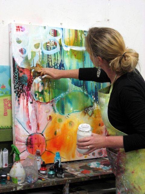paint mojo workshop 2012