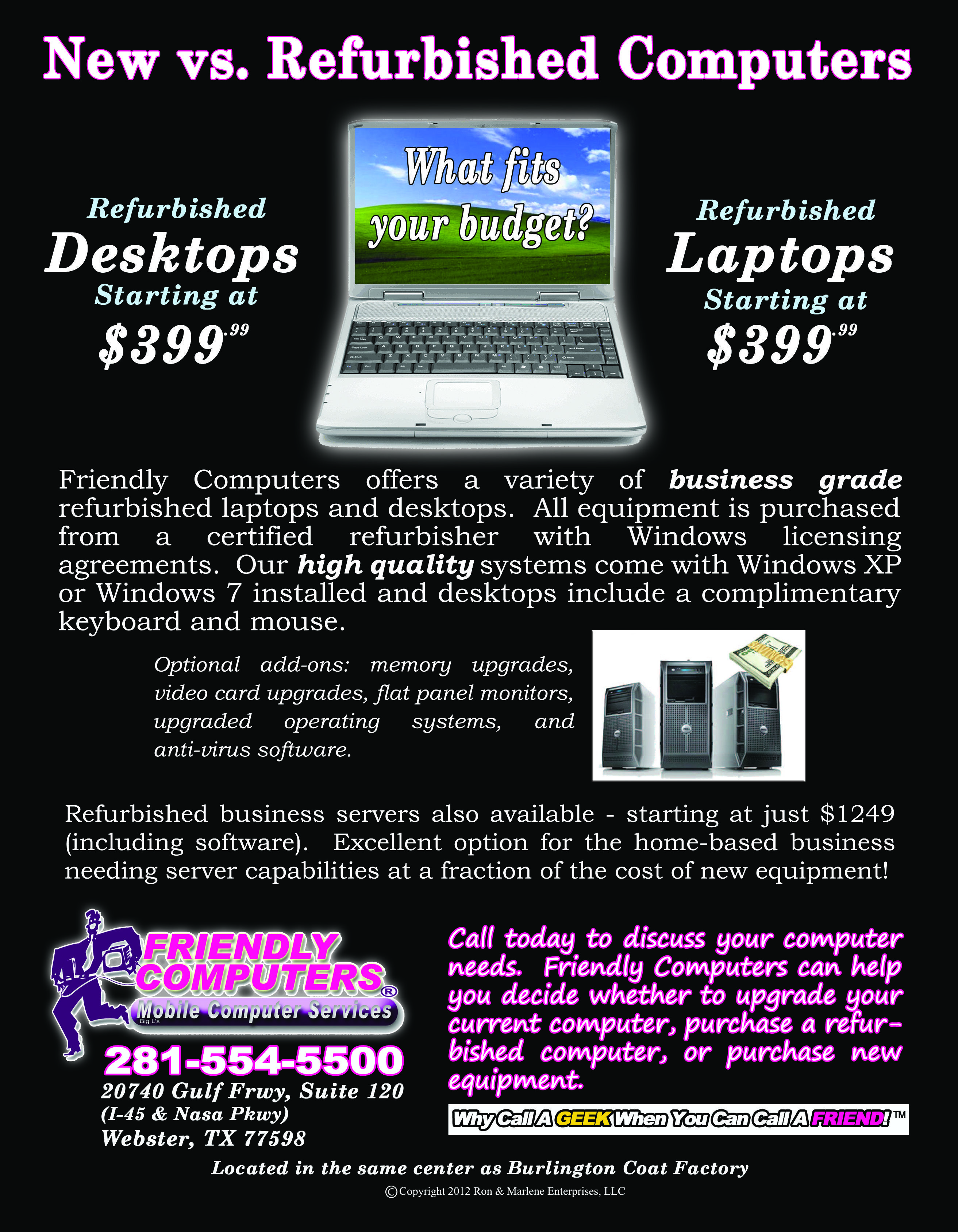 our business class refurbished computers laptops and business our business class refurbished computers laptops and business servers are a great way