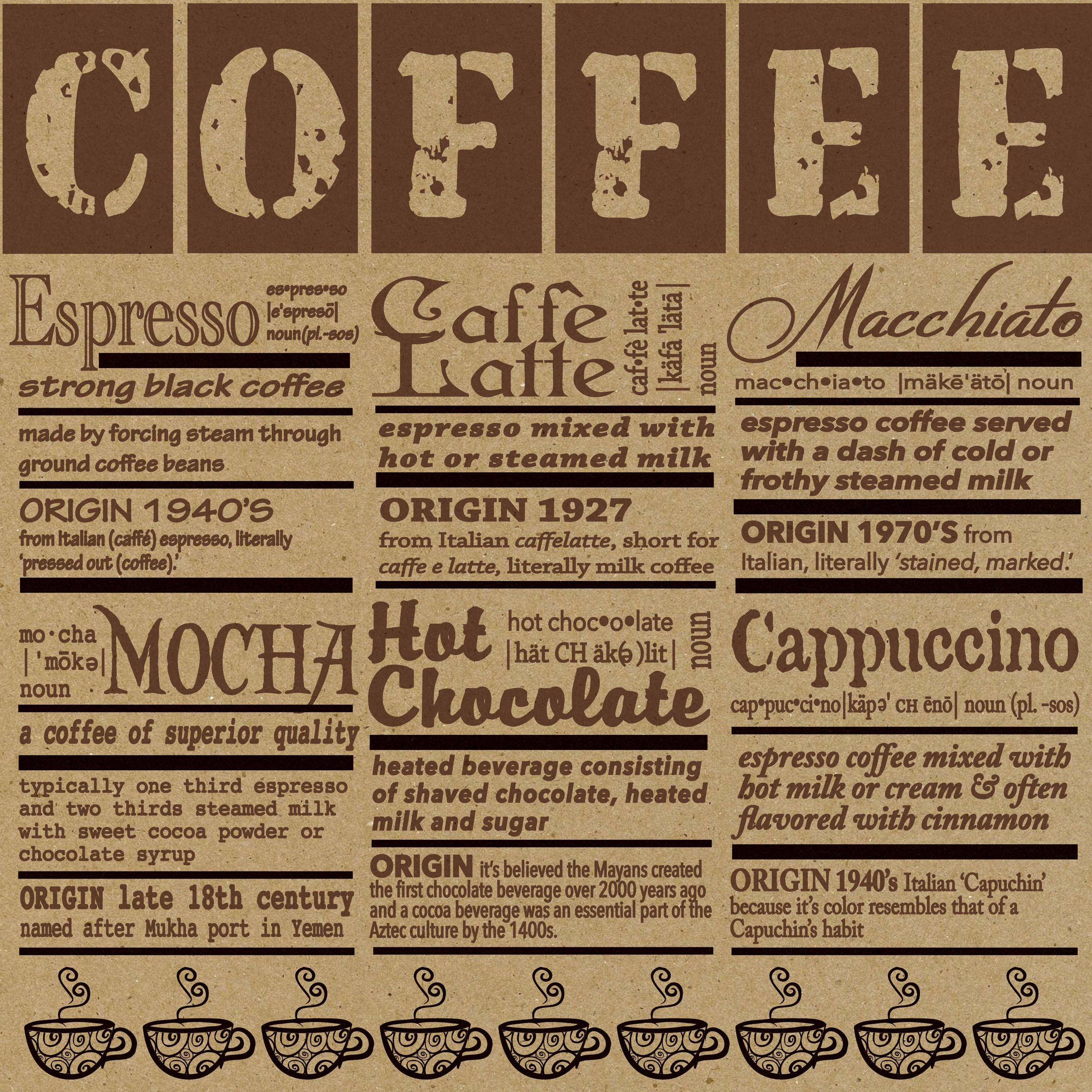 Pin By Canvas Corp On Diy Food And Gourmet Crafts Recipe Paper Coffee Serving Ground Coffee Beans