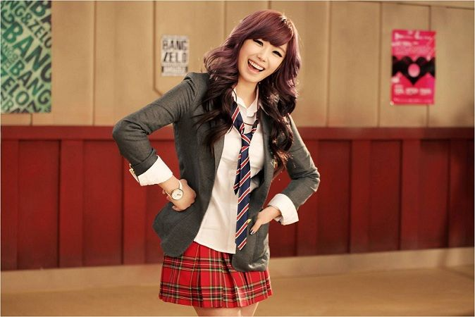 Hyosung unnie <3 | Music= Saranghae | Hyosung secret, Kpop, The secret