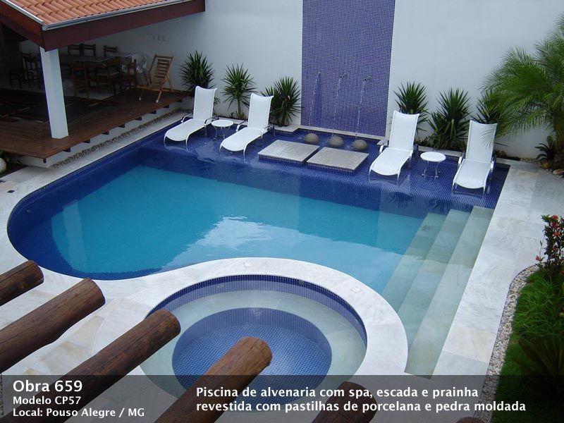 Piscinas piscina piscina de azulejo piscina de pastilha - Modelo de piscina ...