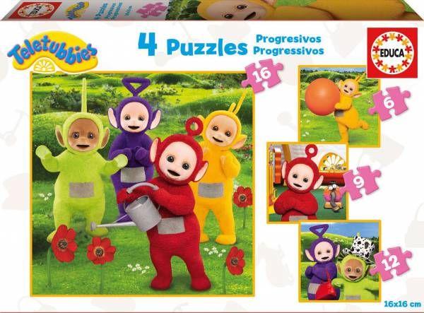 Puzzle EDUCA: Puzzle de 16 piezas Puzzle Teletubbies ( Ref: 0000017015 ) en Puzzlemania.net