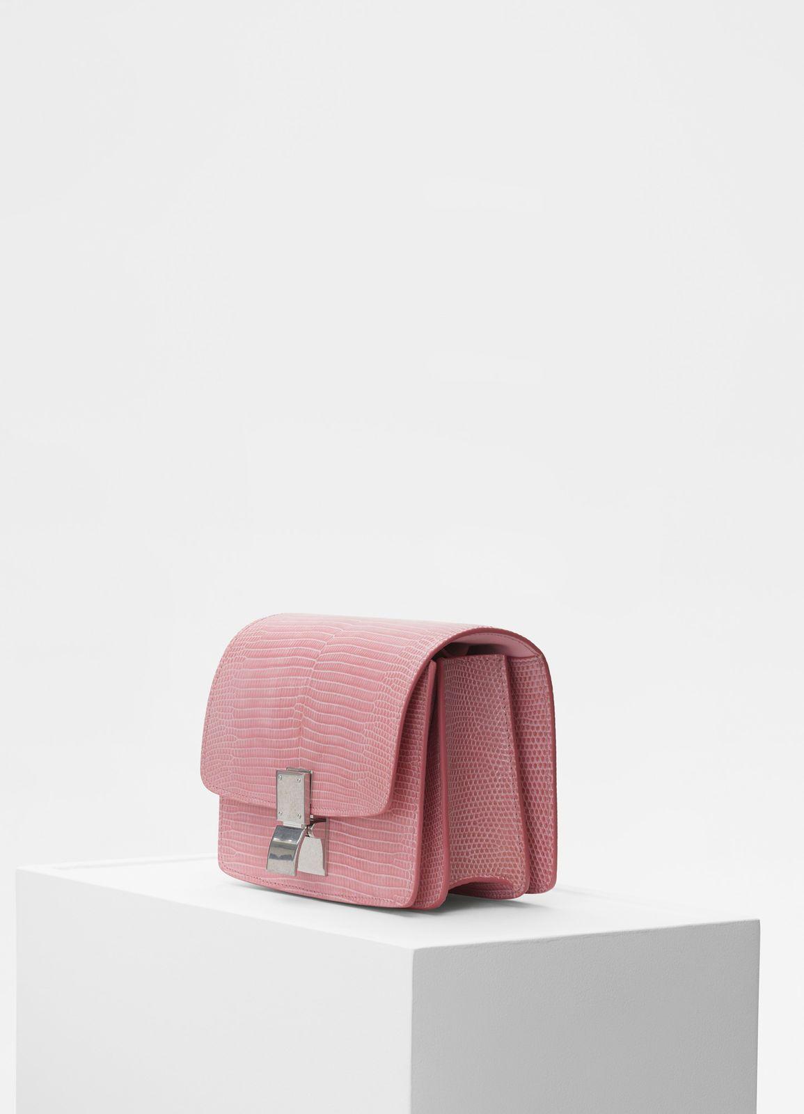 4a6d4e5e1047 Small Classic bag in lizard