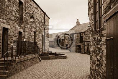 Wall Mural Scottish Whisky distillery